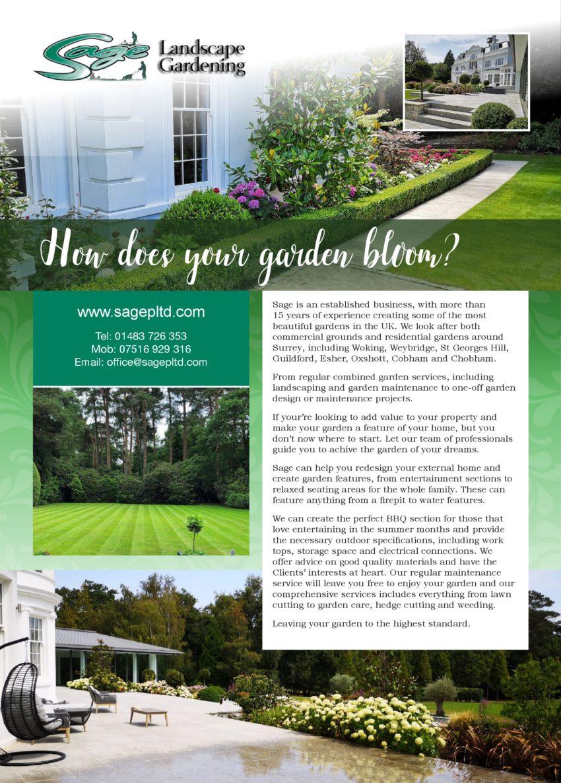 Sage Landscapes & Gardening
